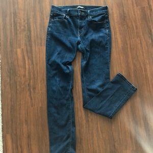 Express Dark Wash Size 8 Skinny Jeans